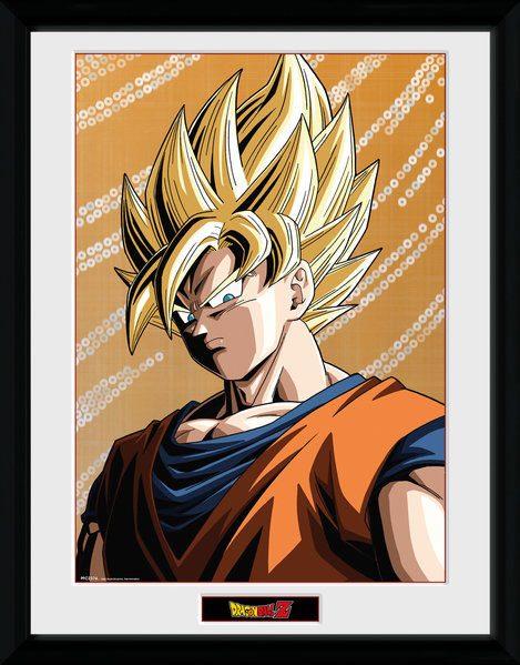 Dragonball Z Framed Poster Goku 45 x 34 cm
