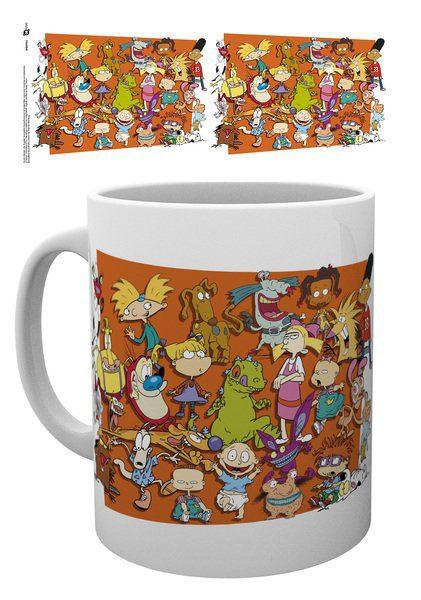 Nickelodeon 90's Mug Compilation 1