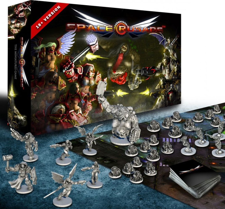 Space Crusade Board Game Basic Game Adult Ver. *English Version*