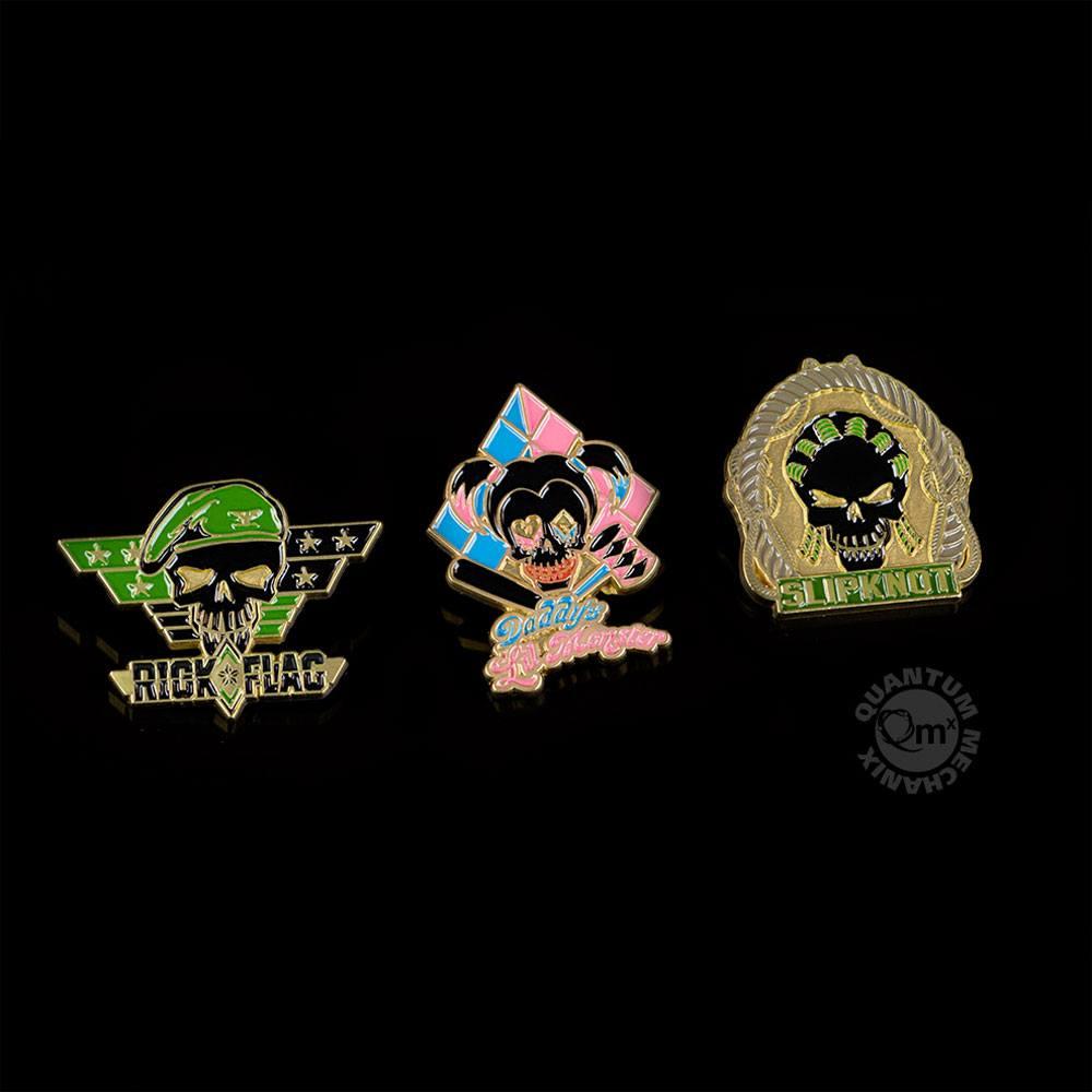 Suicide Squad Pin 3-Set 3