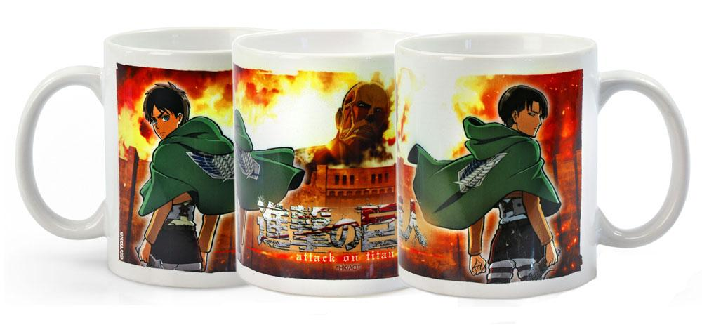 Attack on Titan Mug Duo heo Exclusive