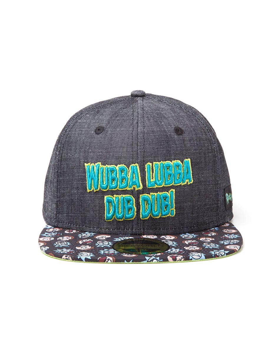 Rick & Morty Snapback Cap Wubba Lubba