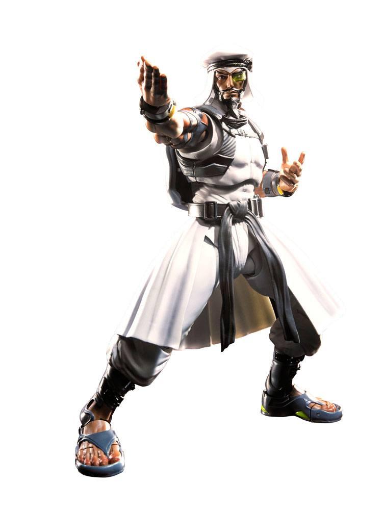 Street Fighter V S.H. Figuarts Action Figure Rashid 15 cm