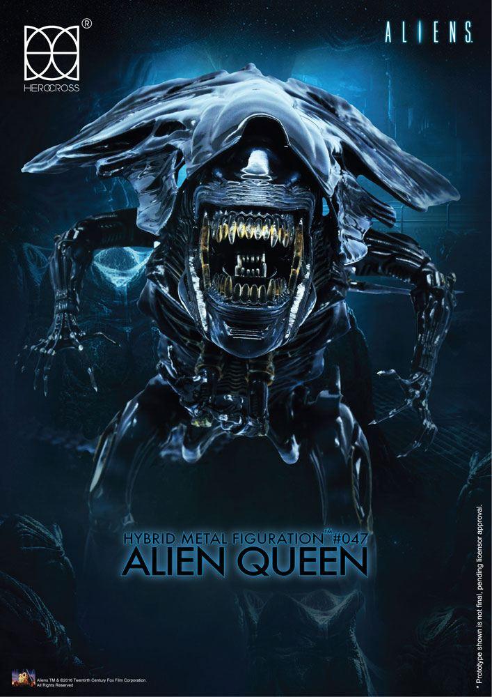 Aliens Hybrid Metal Action Figure Alien Queen 18 cm