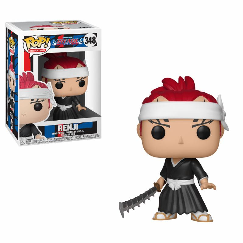 Bleach POP! Animation Vinyl Figure Renji 9 cm