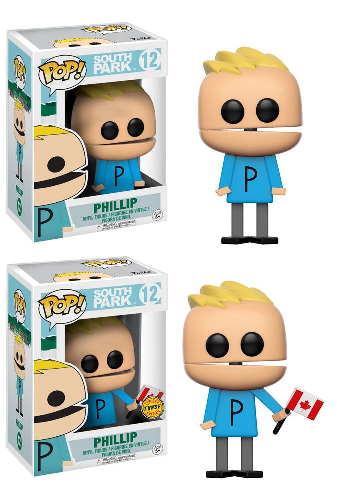 South Park POP! TV Vinyl Figures Phillip 9 cm Assortment (6)