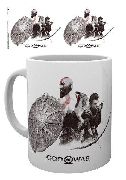 God of War Mug Kratos and Atreus