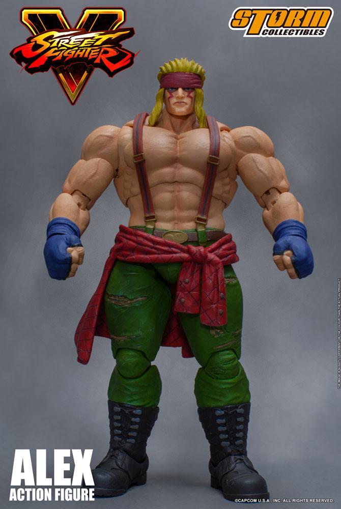 Street Fighter V Action Figure 1/12 Alex 18 cm