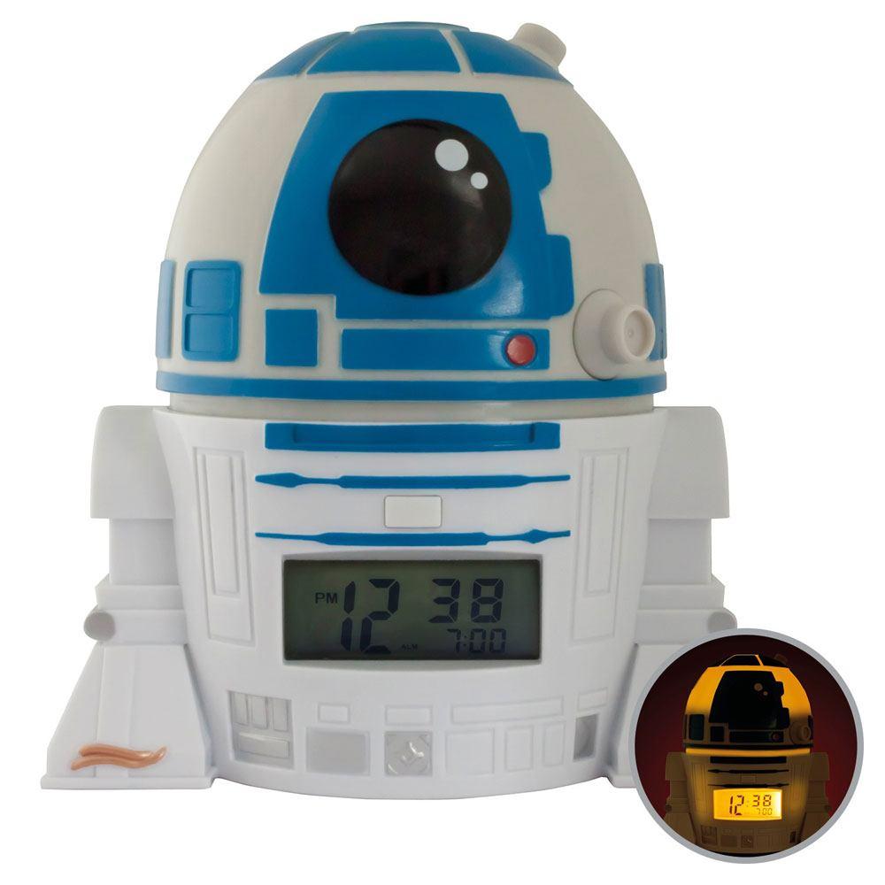 Star Wars BulbBotz Alarm Clock with Light R2-D2 14 cm