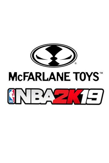 NBA 2K19 Action Figure Series 1 LeBron James (Los Angeles Lakers) 15 cm