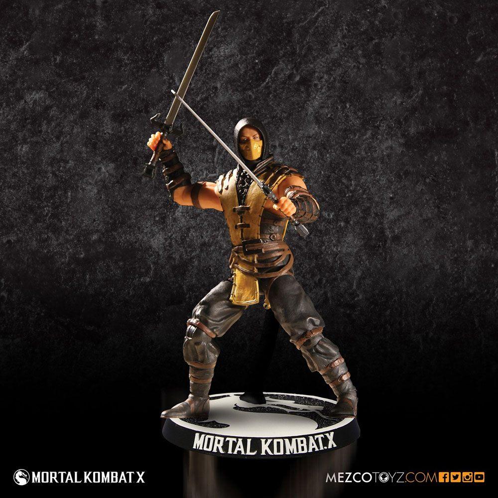 Mortal Kombat X Action Figure Scorpion 10 cm
