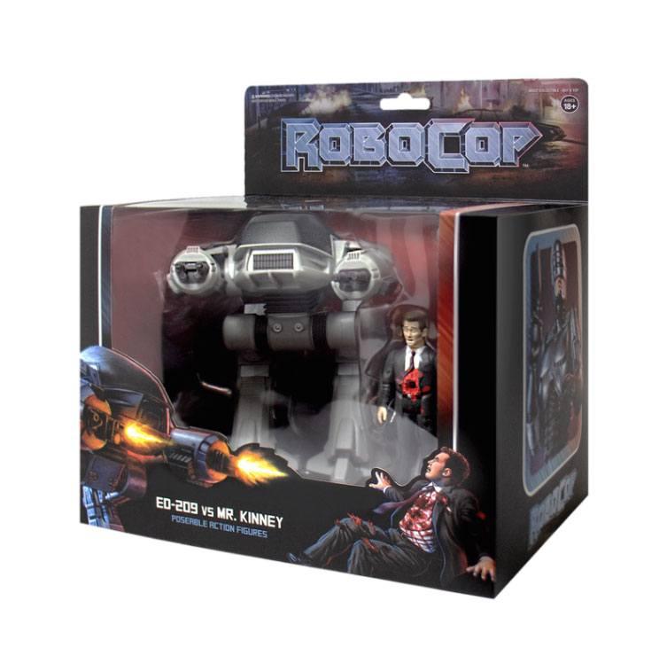 Robocop ReAction Action Figure 2-Pack ED-209 vs. Mr. Kinney