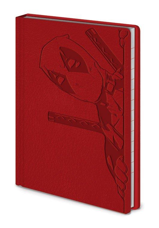 Deadpool Premium Notebook A6 Peek A Book