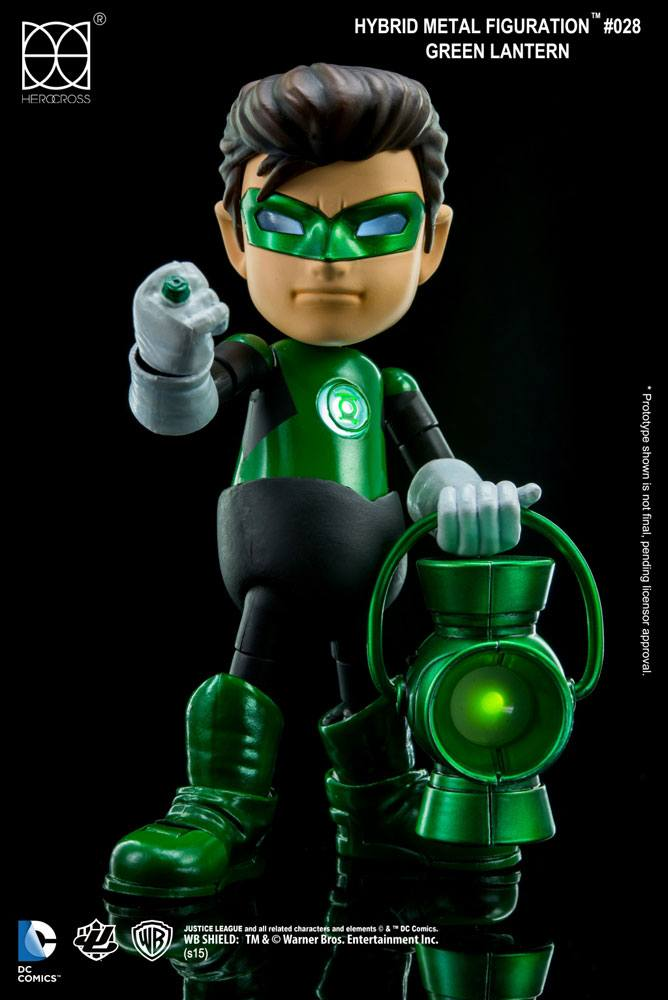 DC Comics Hybrid Metal Action Figure Green Lantern 14 cm