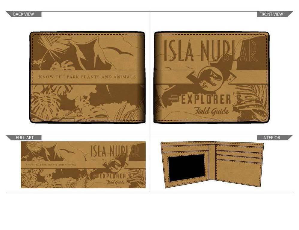 Jurassic Park Wallet Isla Nublar