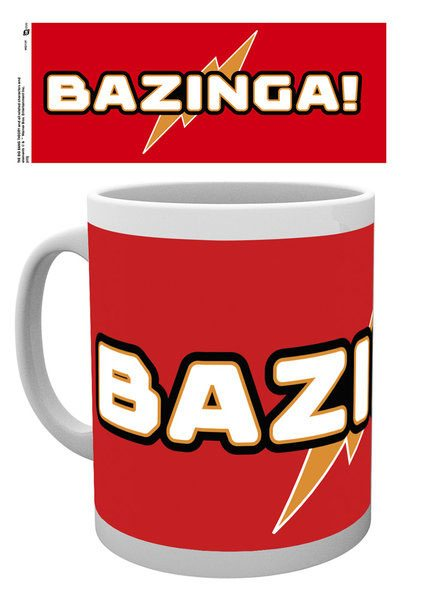 The Big Bang Theory Mug Bazinga