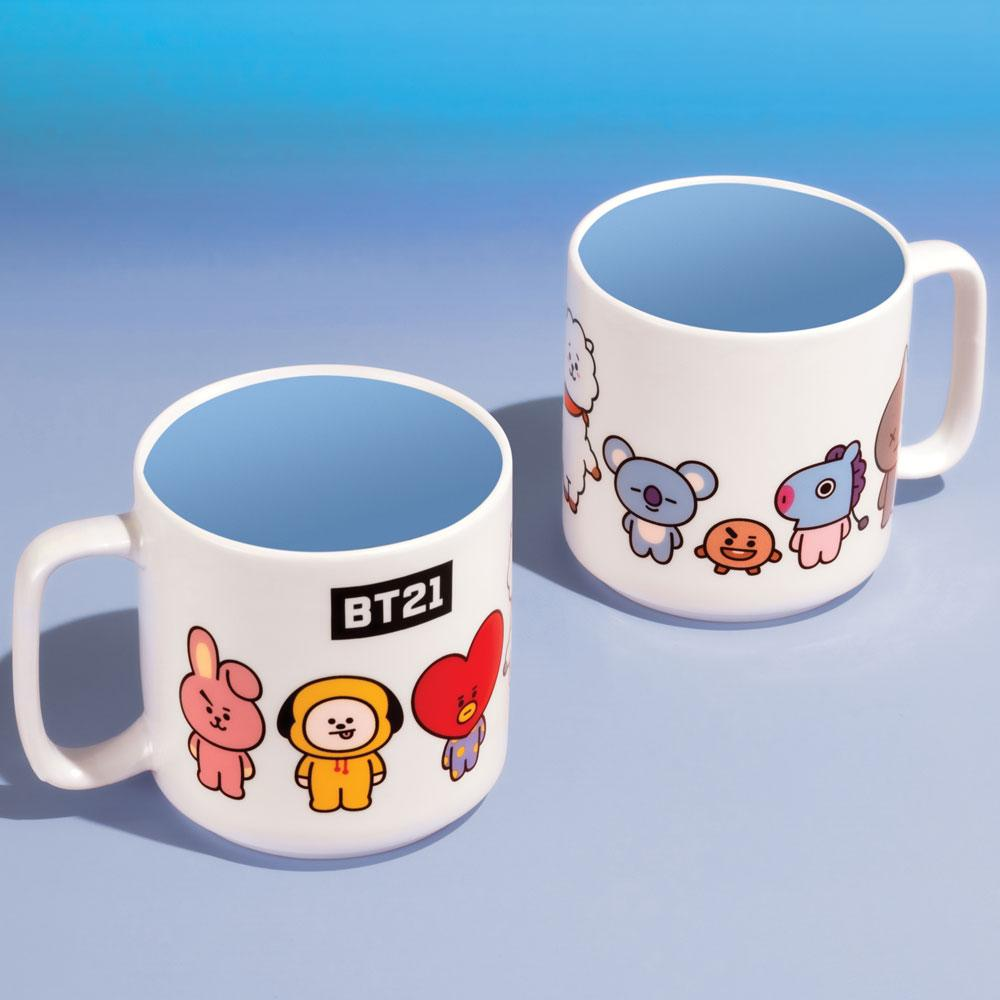 BT21 Mug Characters