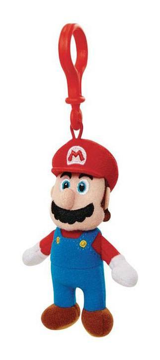 Super Mario Plush Keychain Mario 8 cm