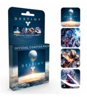 Destiny Coaster 4-pack Mix