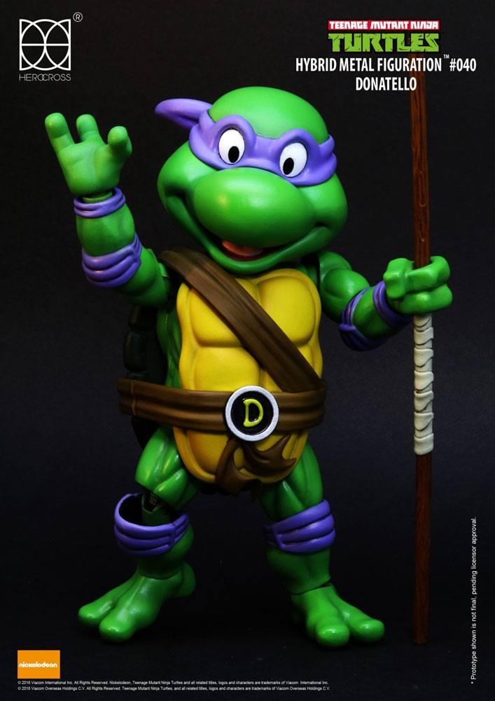 Teenage Mutant Ninja Turtles Hybrid Metal Action Figure Donatello 14 cm