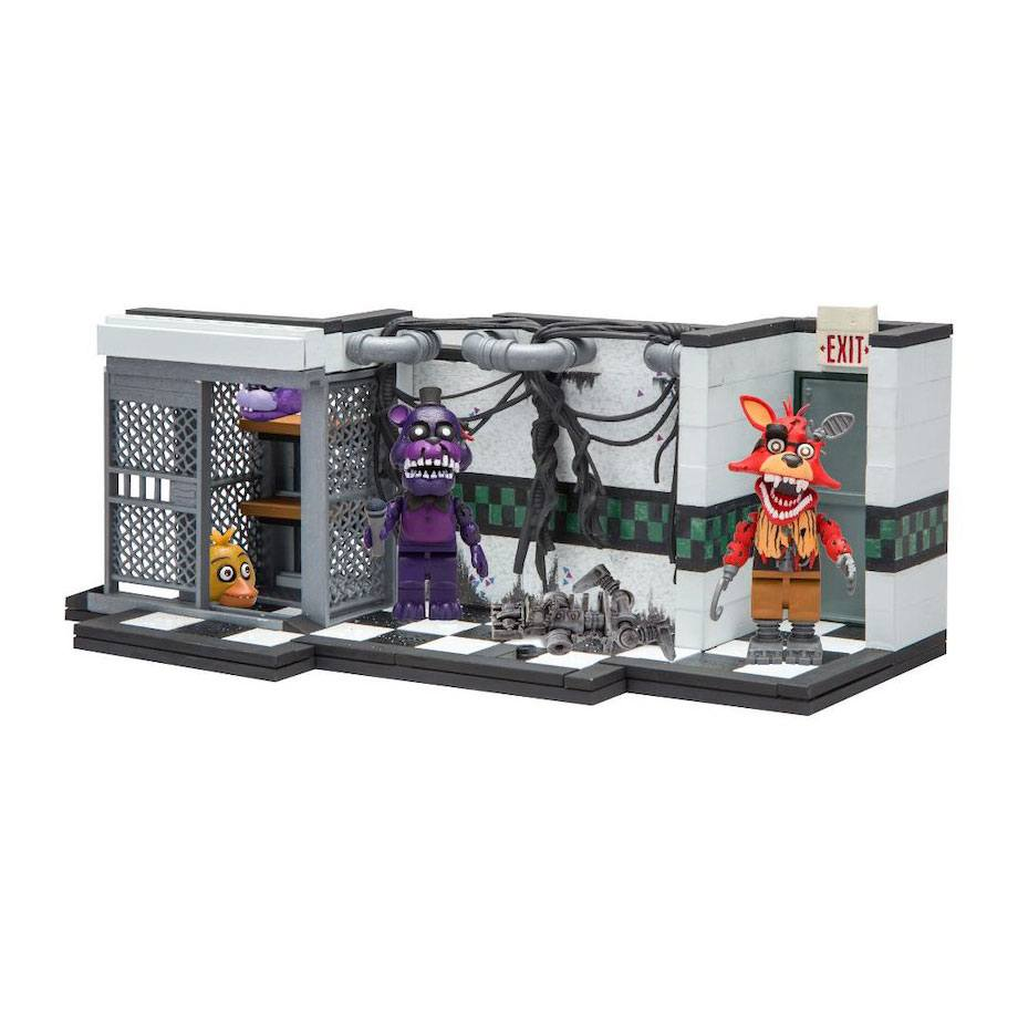 Five Nights at Freddy's Medium Construction Set Parts & Service