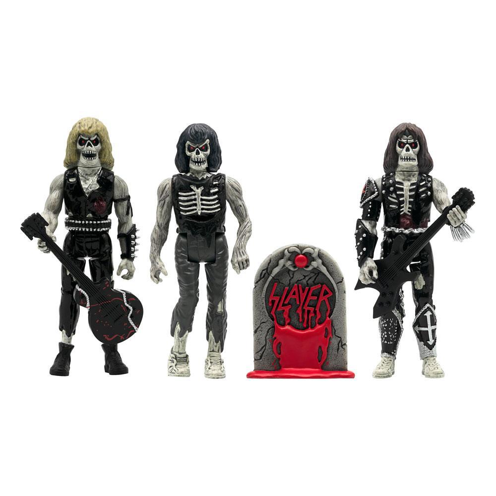 Slayer ReAction Action Figure 3-Pack Live Undead 10 cm