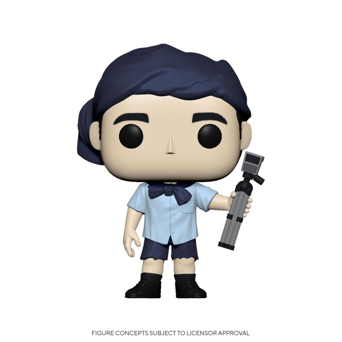 The Office POP! TV Vinyl Figure Michael as Survivor 9 cm