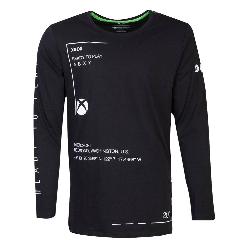 Microsoft Xbox Long Sleeve Ready To Play Size L