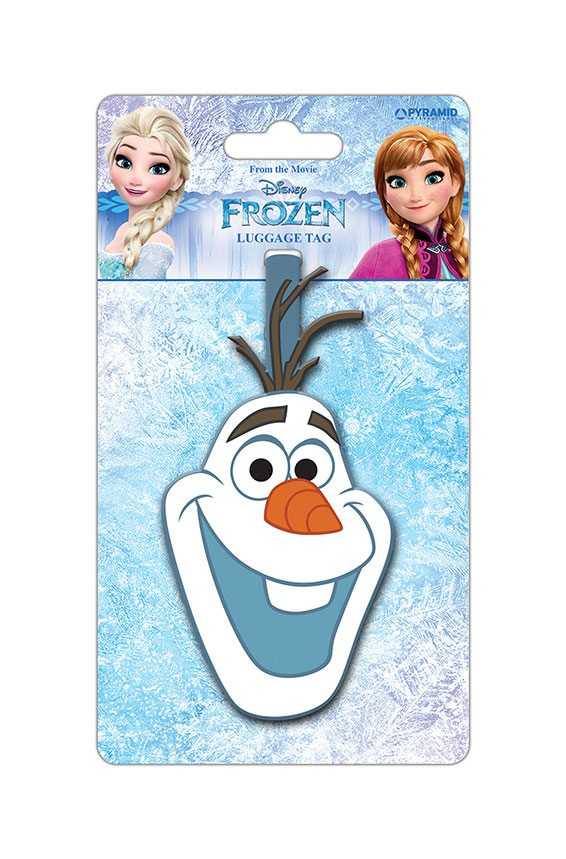 Frozen Rubber Luggage Tag Olaf