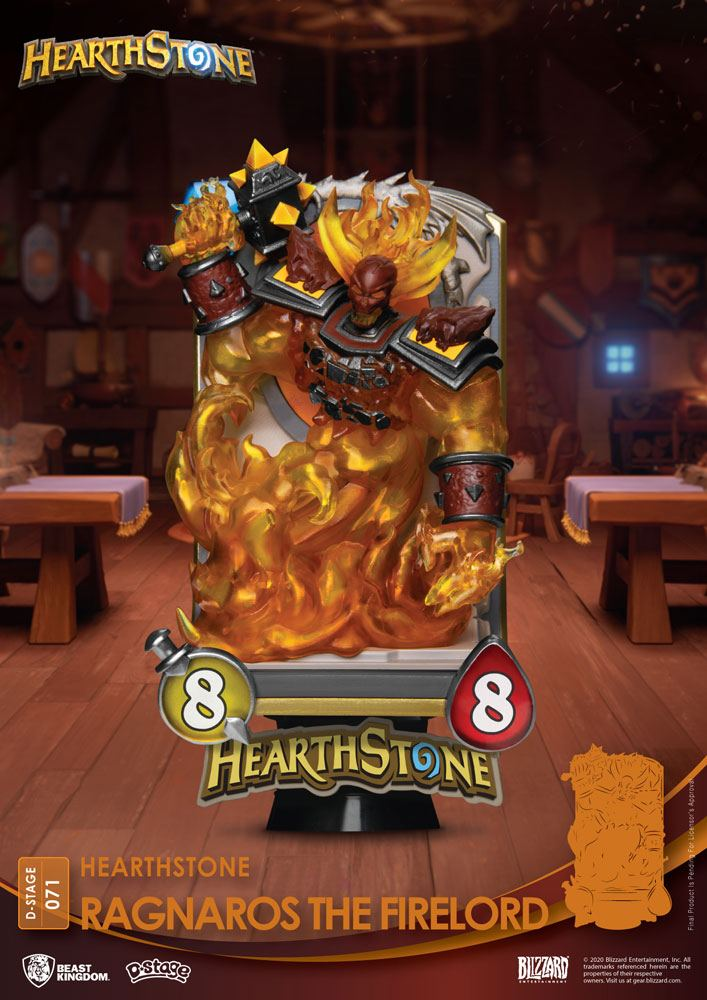 Hearthstone: Heroes of Warcraft D-Stage PVC Diorama Ragnaros the Firelord 16 cm
