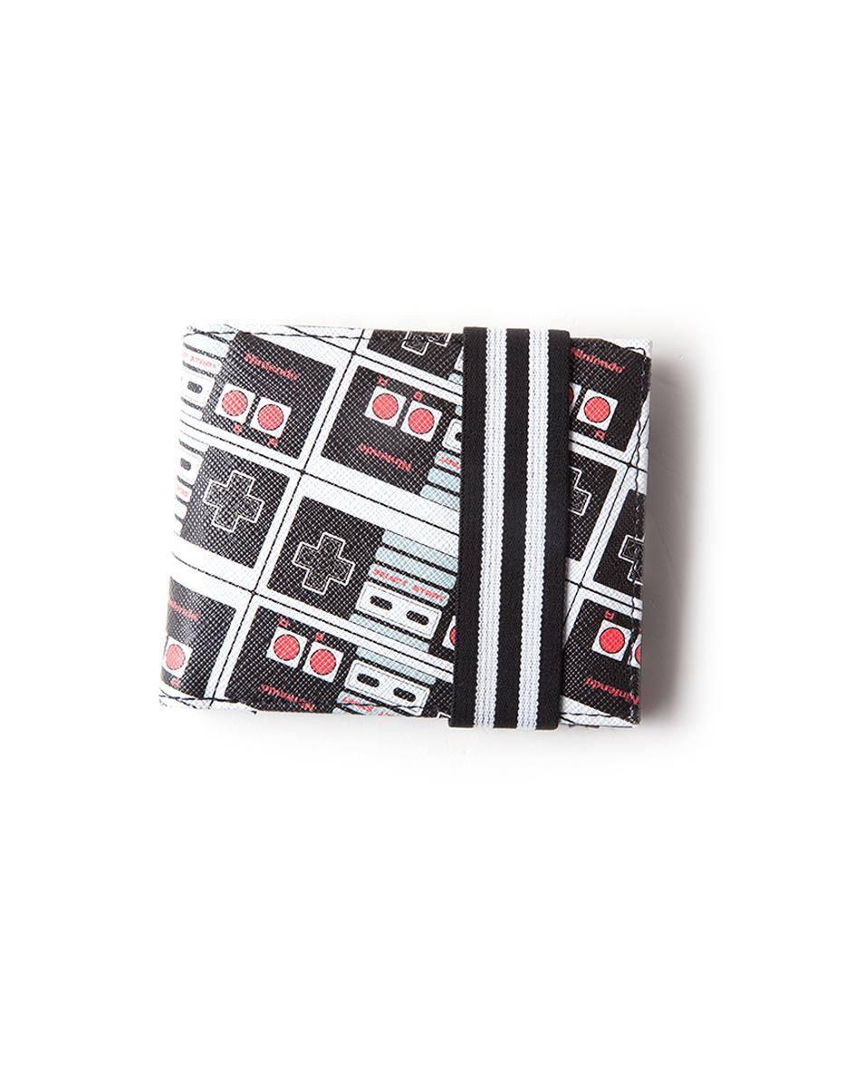 Nintendo Wallet NES Controller AOP