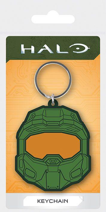 Halo Rubber Keychains Master Chief 6 cm Case (10)