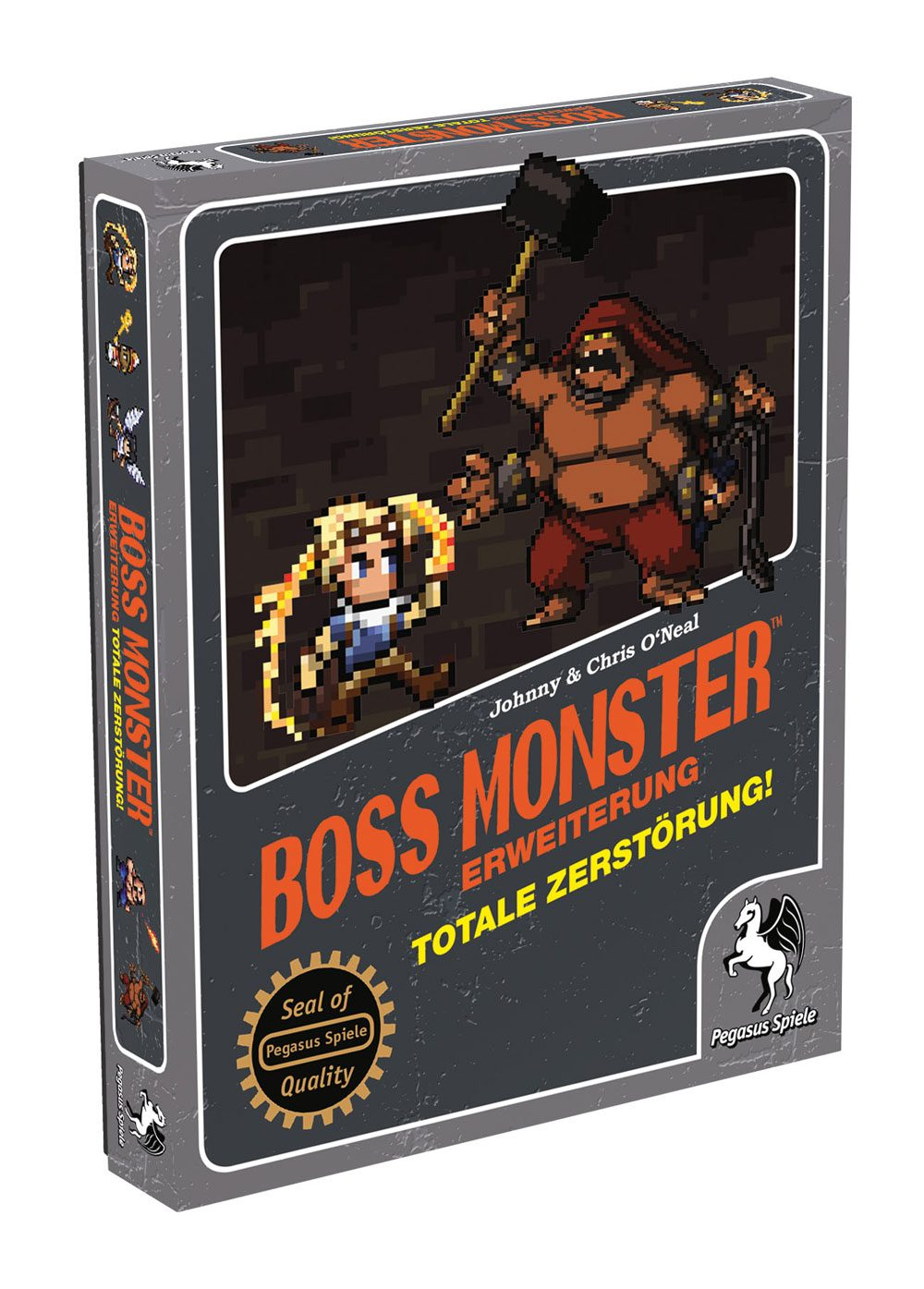 Boss Monster Card Game Expansion Totale Zerstörung! *German Version*