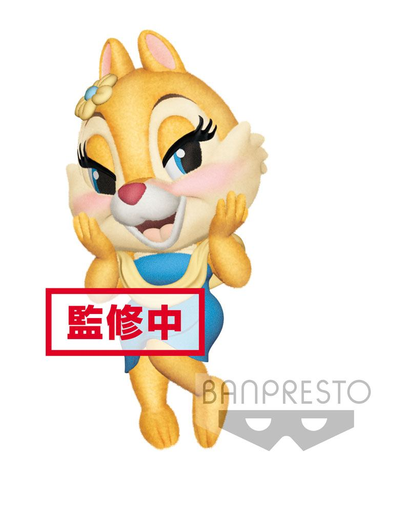 Disney Fluffy Puffy Mini Figure Chip 'n Dale: Clarice 7 cm
