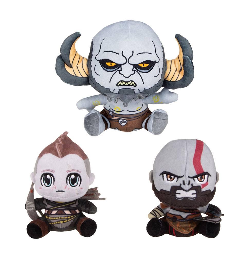 God Of War Stubbins Plush Figures 3-Pack 10-15 cm