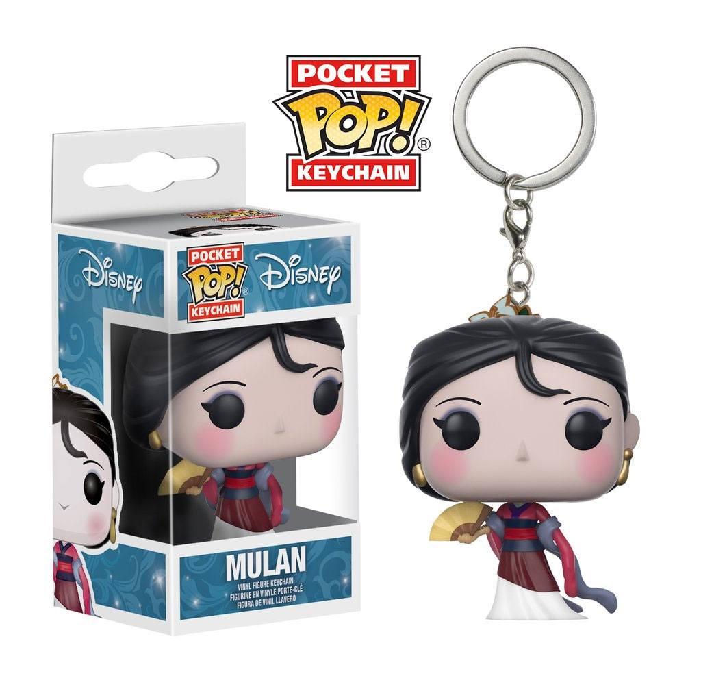 Disney Princess Pocket POP! Vinyl Keychain Mulan 4 cm
