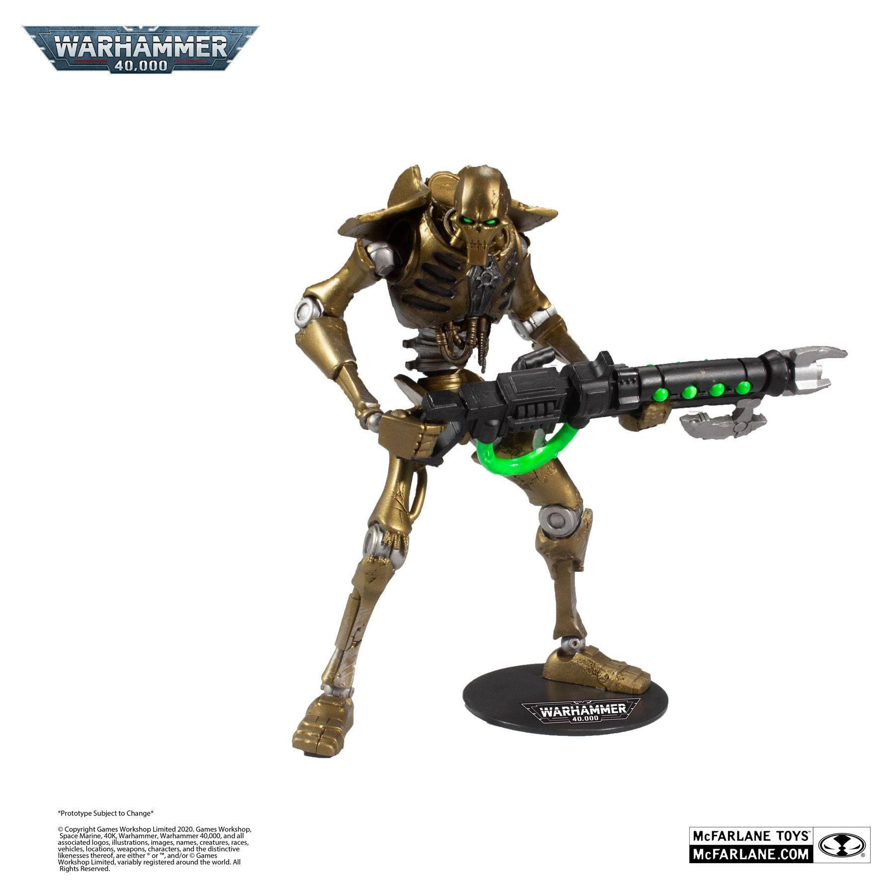 Warhammer 40k Action Figure Necron 18 cm