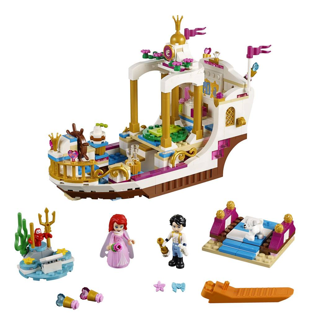 LEGO® Disney: The Little Mermaid - Ariel's Royal Celebration Boat