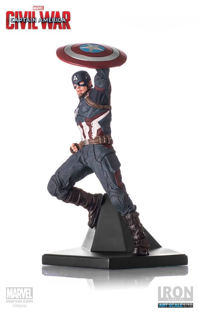 Captain America Civil War Statue 1/10 Captain America 25 cm