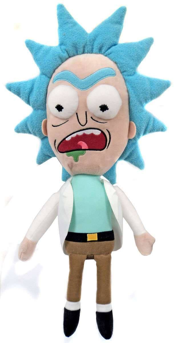 Rick & Morty Galactic Plushies Plush Figure Rick Worried 41 cm