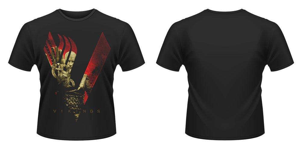 Vikings T-Shirt Blood Sky Size L