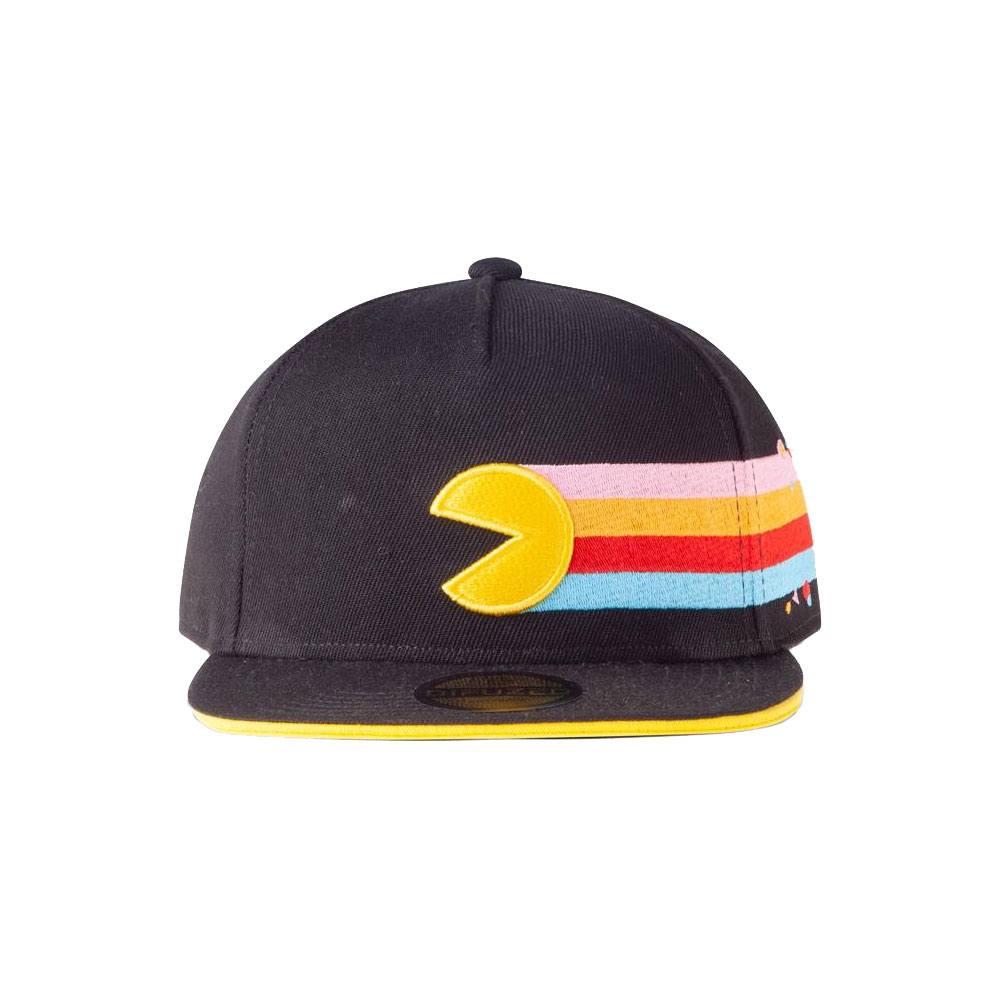 Pac-Man Snapback Cap Stripes