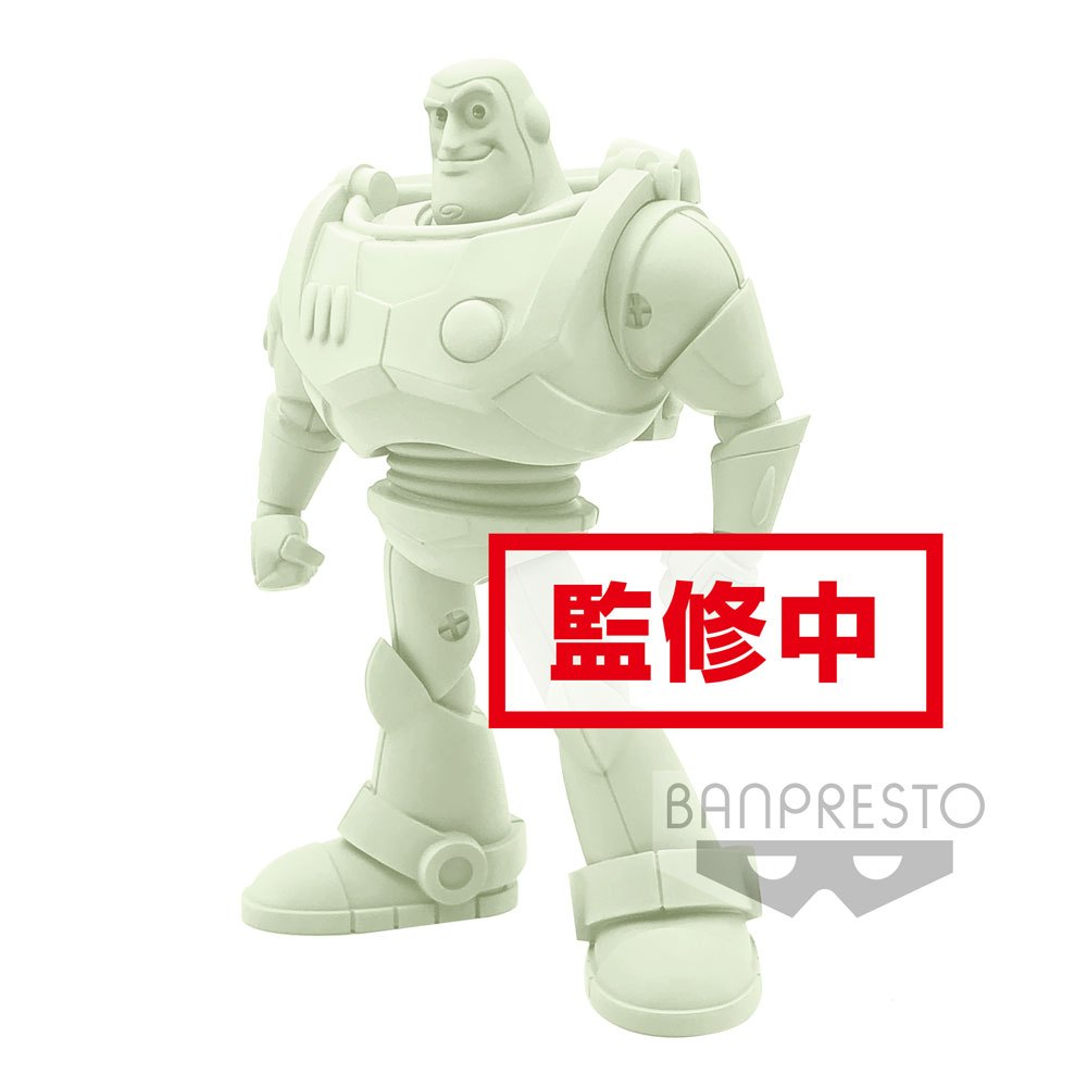 Pixar Comicstars Mini Figure Buzz Lightyear (Toy Story) B Luminous Color Version 16 cm