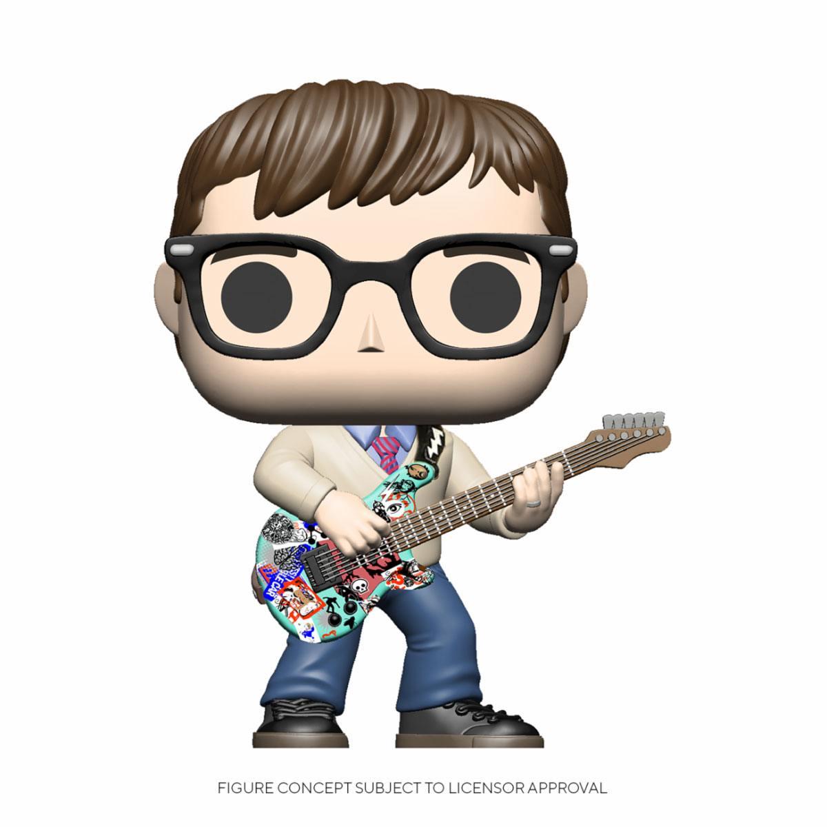 Weezer POP! Rocks Vinyl Figure Rivers Cuomo 9 cm