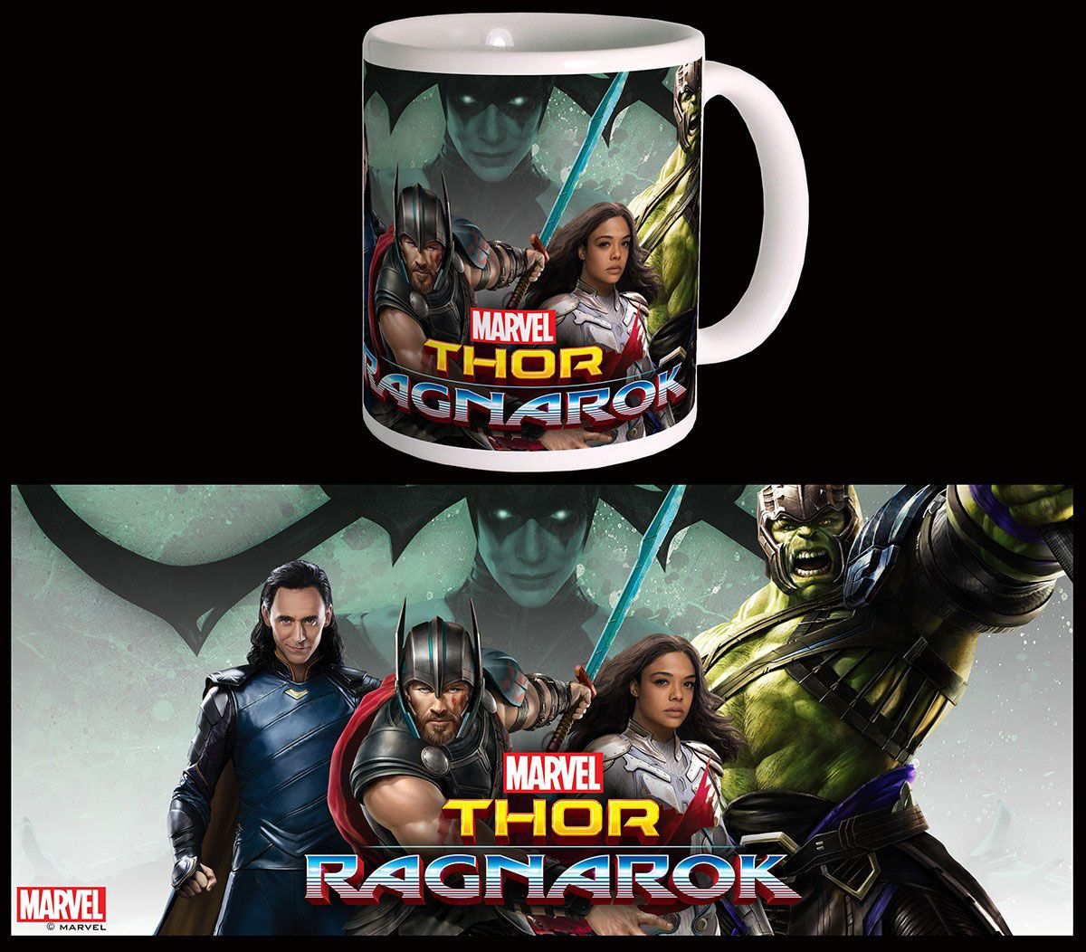 Thor Ragnarok Mug Team Thor