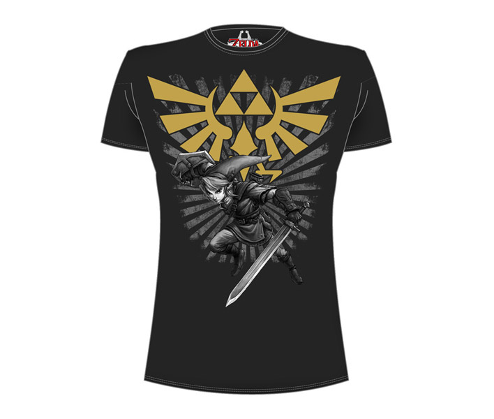 Nintendo Gold Logo Men's T-Shirt M