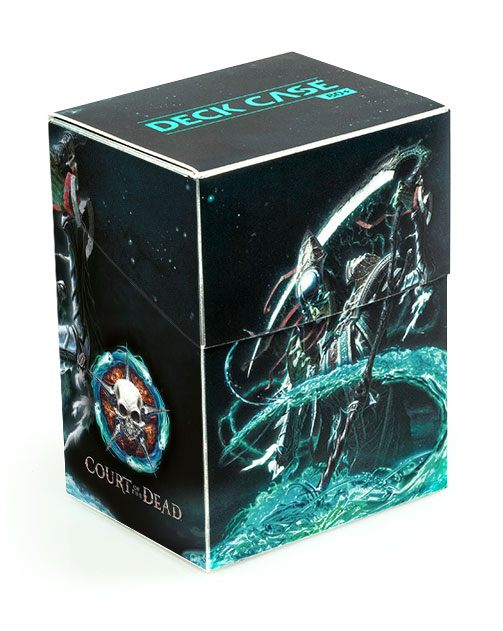Court of the Dead Basic Deck Case 80+ Standard Size Death I