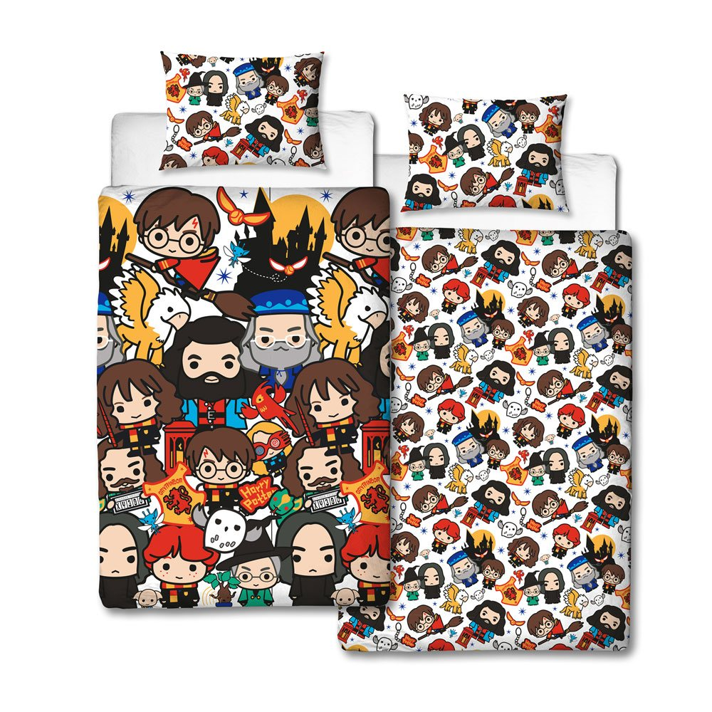 Harry Potter Duvet Set Reversible Charm 135 x 200 cm / 48 x 74 cm