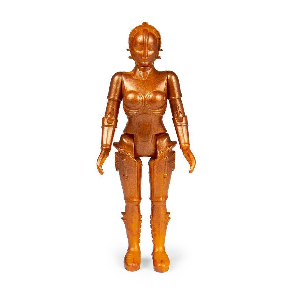 Metropolis ReAction Action Figure Maria (Gold) 10 cm