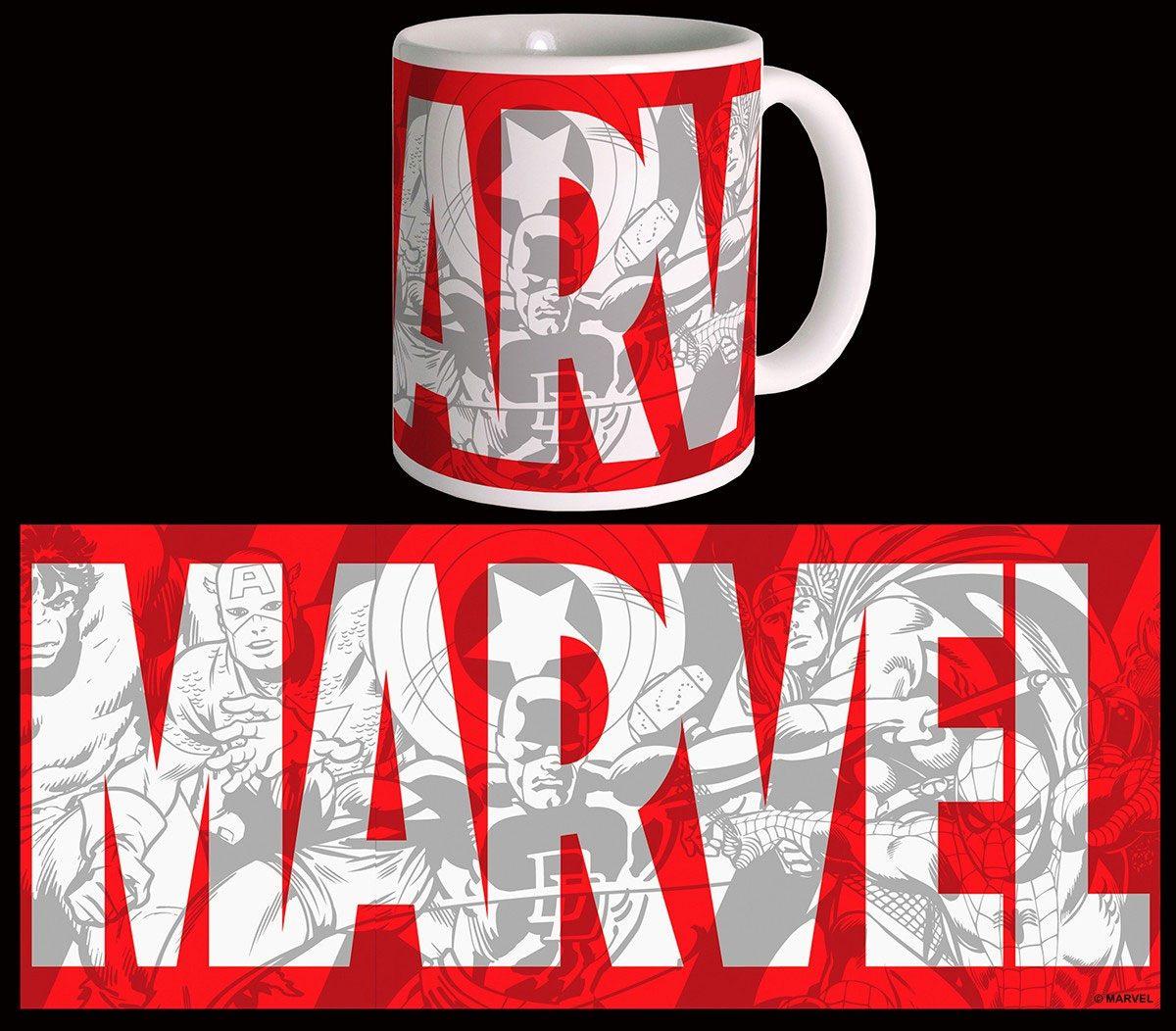 Marvel Comics Mug Big Logo
